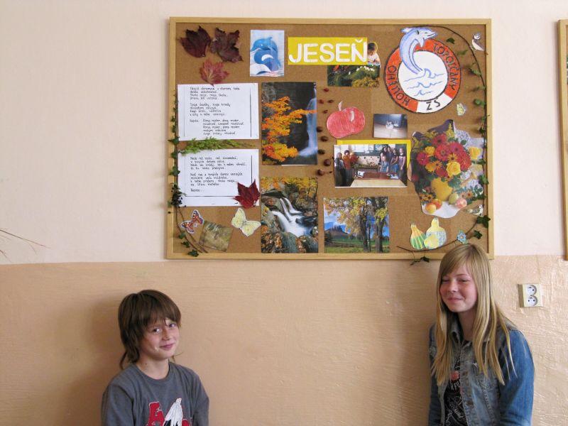 Práve prehliadate: Jesenná výzdoba tried 2010